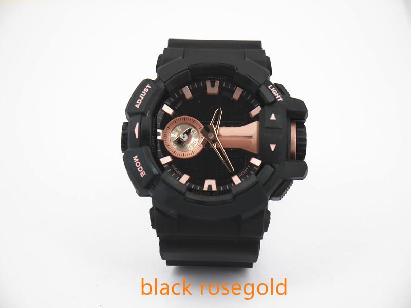 черный rosegold