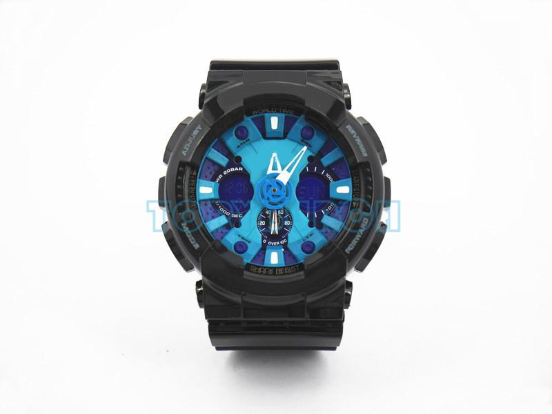# 7 черный синий