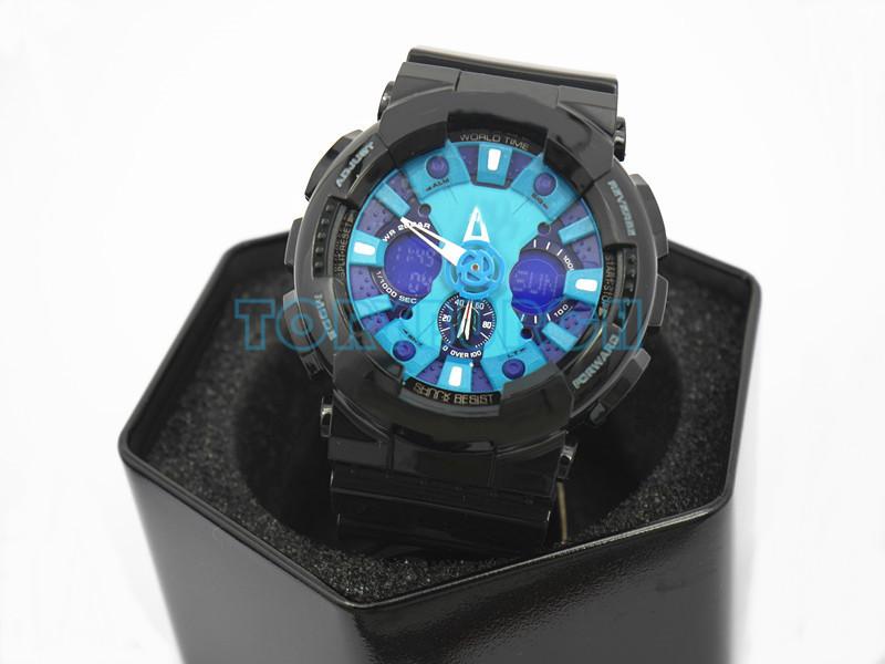 # 7 черный синий с коробкой