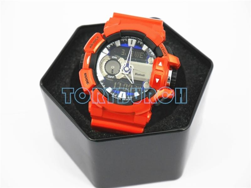 Оранжевый с коробкой