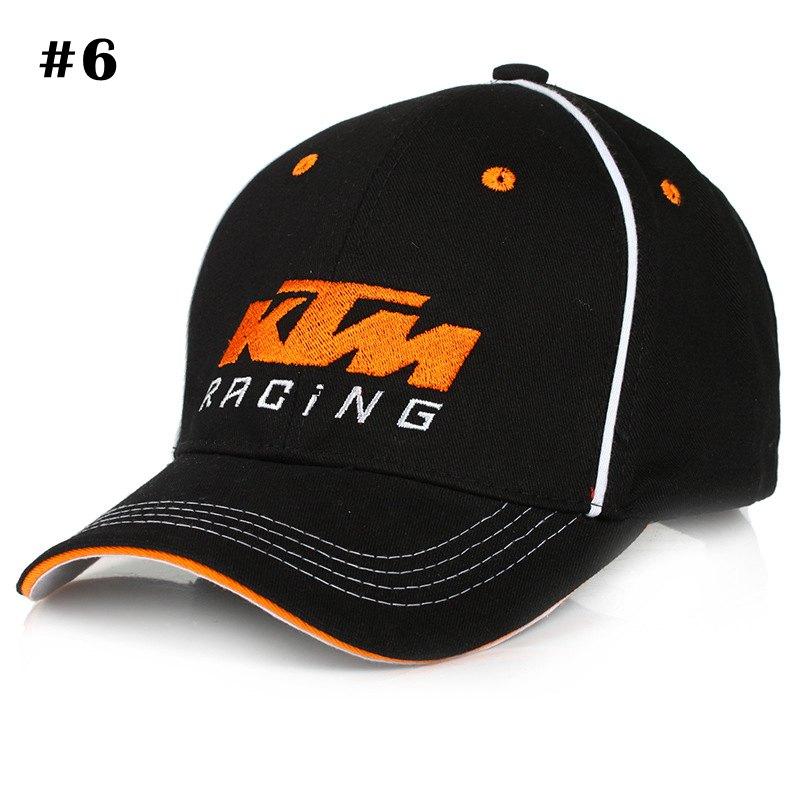 KTM Racing MOTO GP Motorcycle Cap Letters Baseball Cap Men Women Snapback Hats