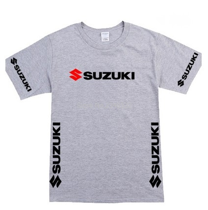 ugongchengyouxi T Shirt Suzuki Motos Logo Mode Chemise Dr/ôle /À Manches Courtes pour Hommes Noir