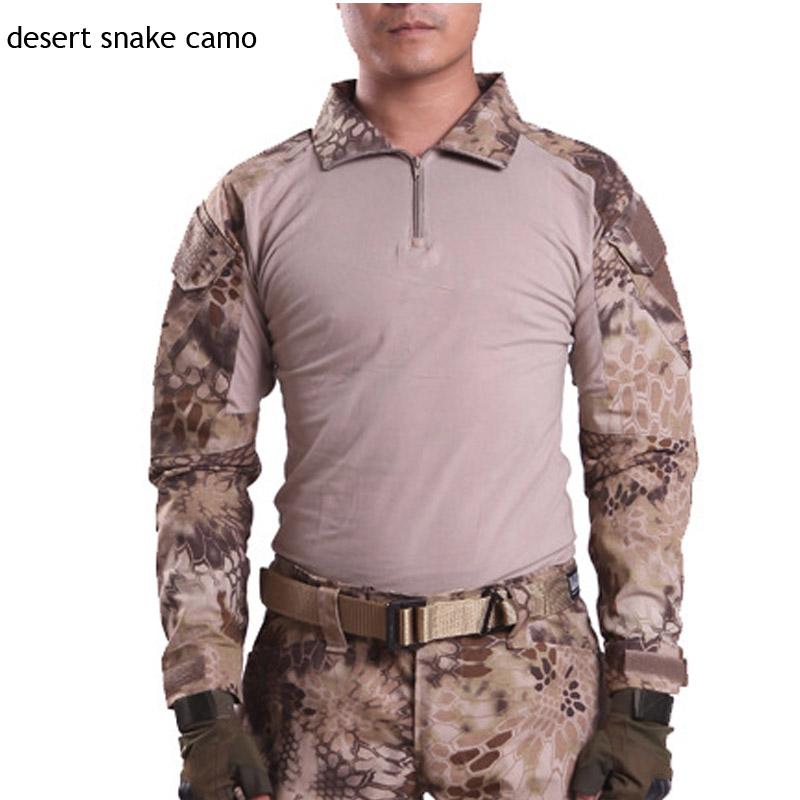 camuffamento serpente nel deserto