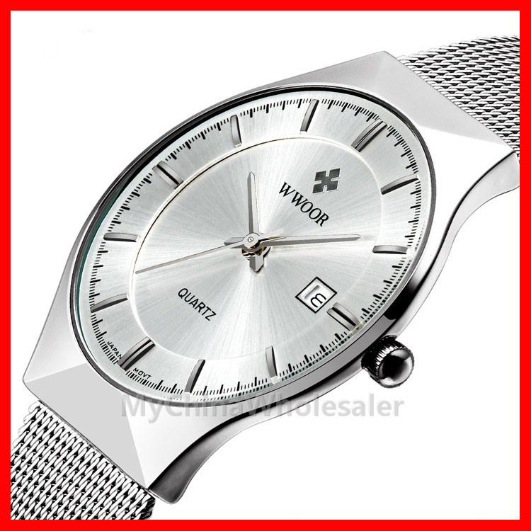 Silver case & Silver dial