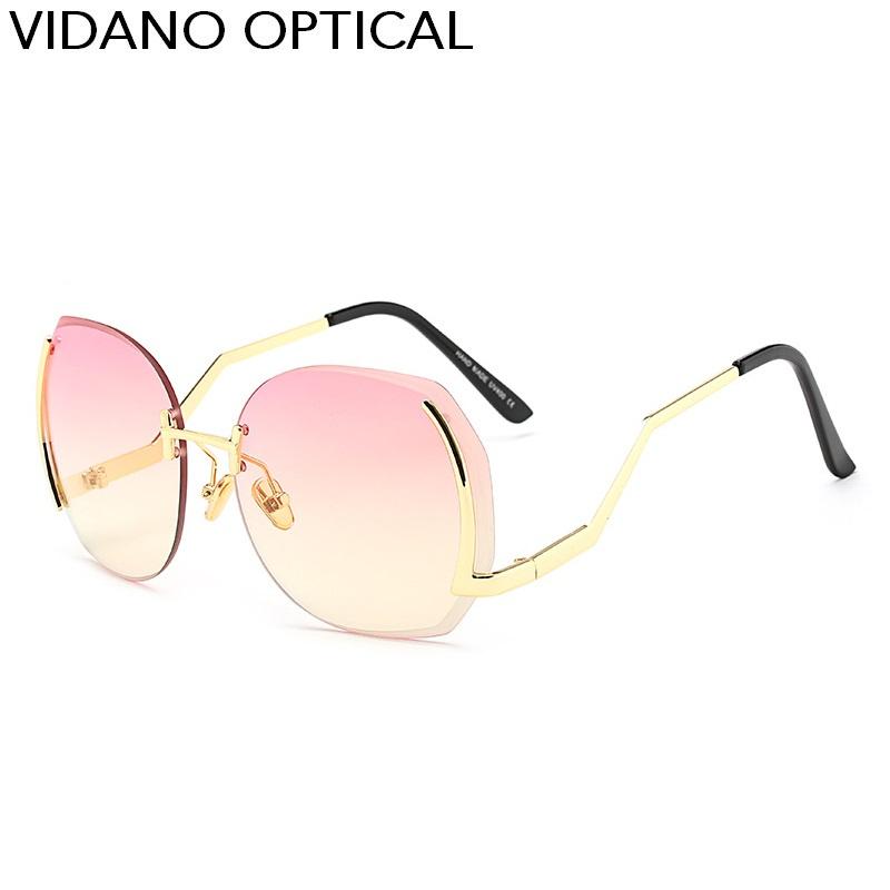 Golden Frame Lens oro rosa