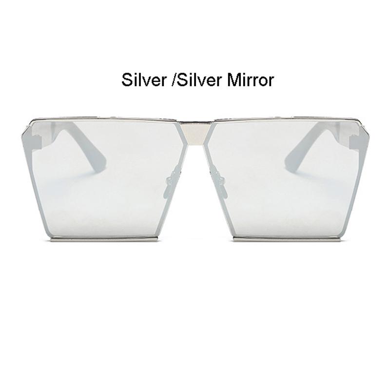 Silver Frame Silver Mirror