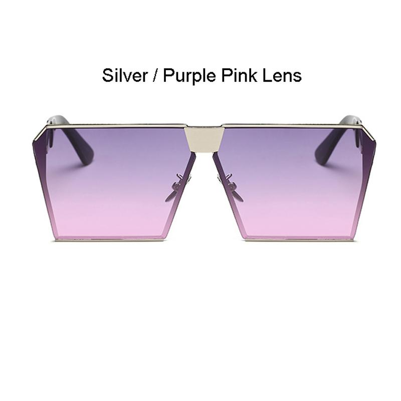 Silver Frame Lila Pink Objektiv