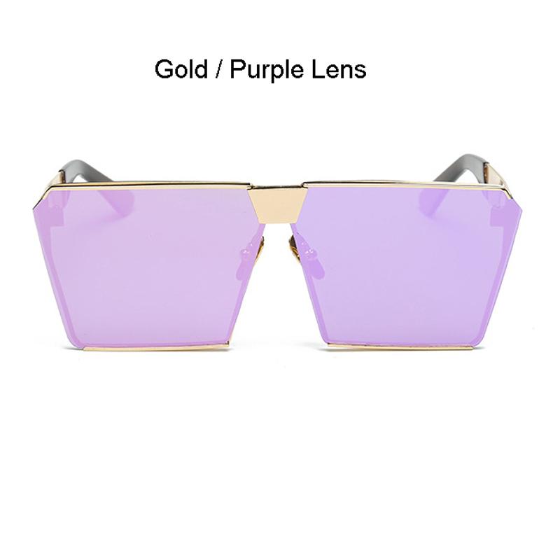 Gold Frame Lila Objektiv