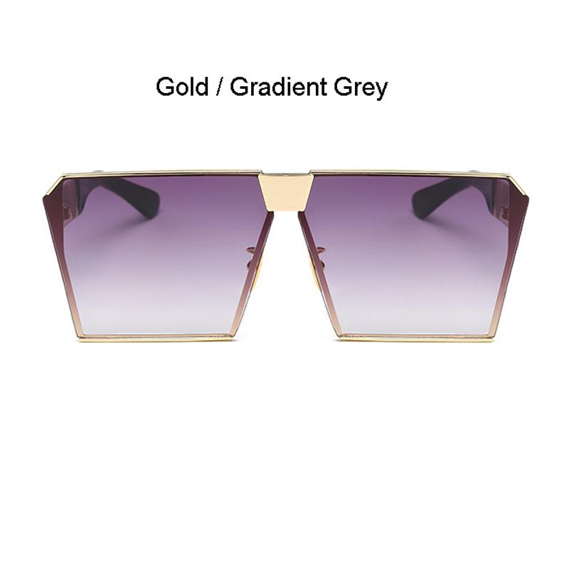 Gold Frame Gradient Grau