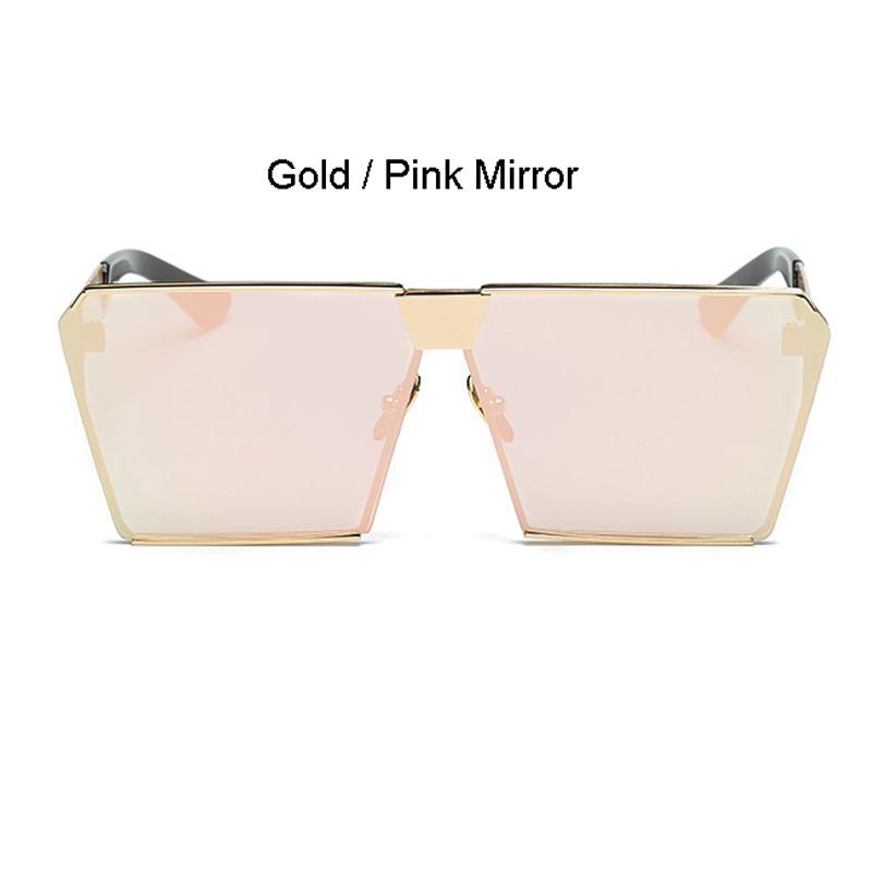 Gold Rahmen rosa Spiegel