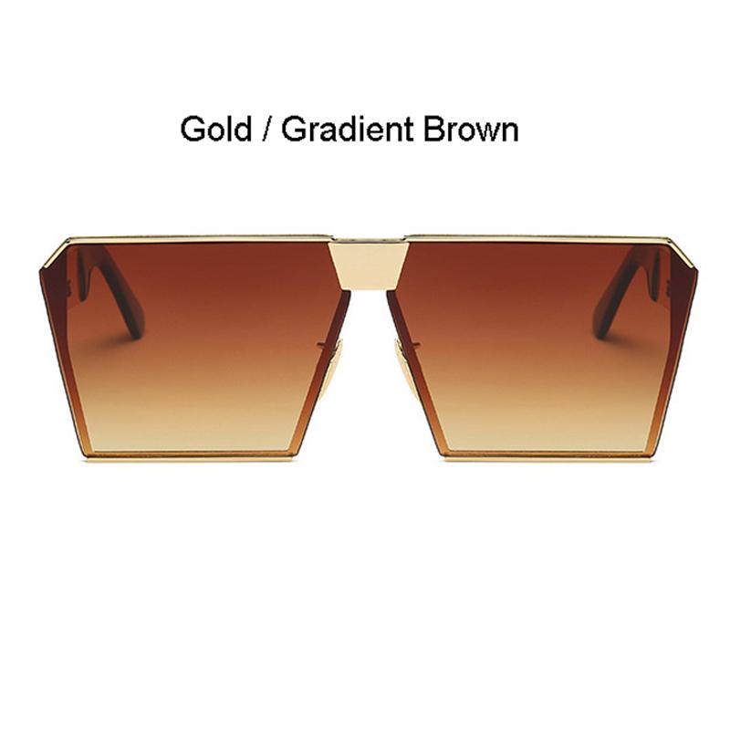Gold Frame Gradient Braun