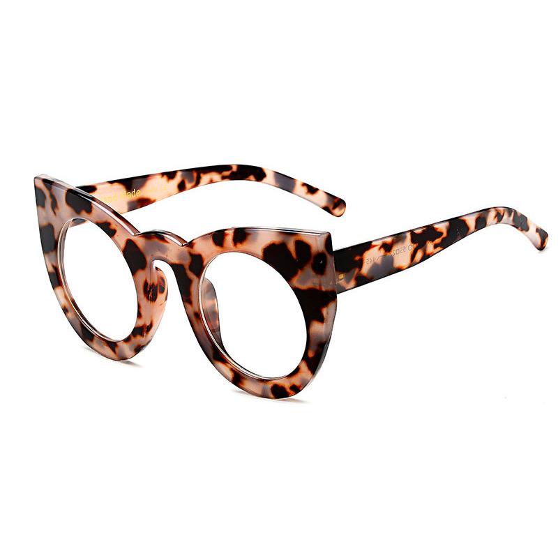 C13 Gris Leopard Frame Clear Lens