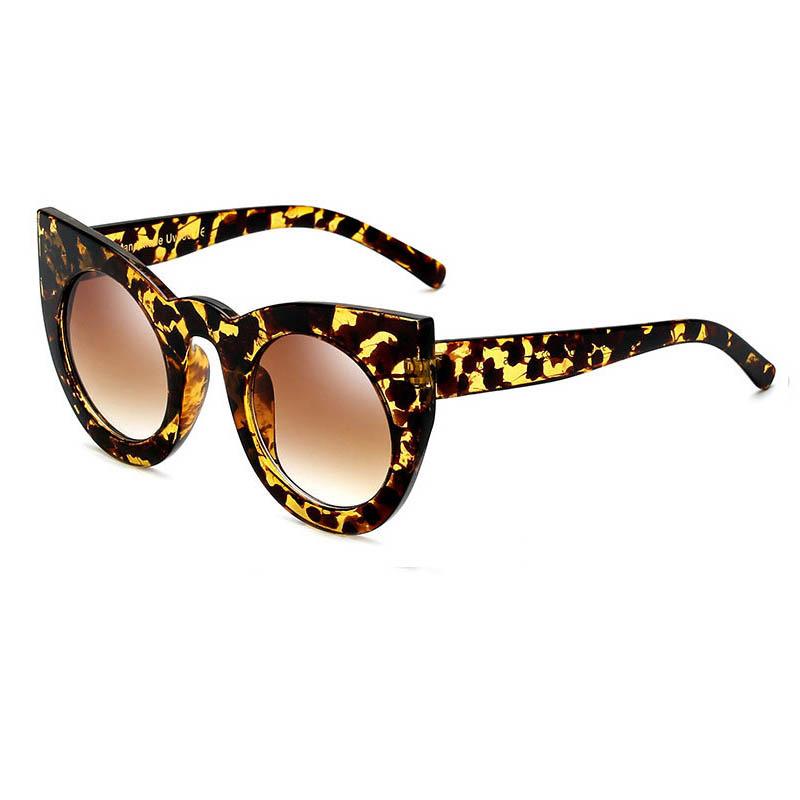 C2 Leopard Frame Gradient Brown