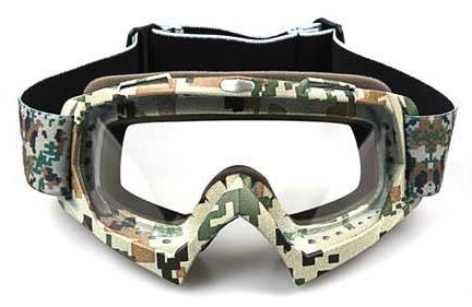 army green frame+transparent len