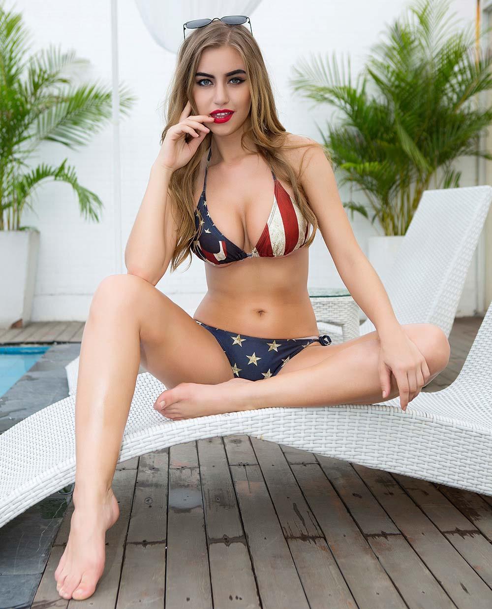 2018 sexy american flag bikini beach swimwear bkini swimsuit retro style for womens hot from. Black Bedroom Furniture Sets. Home Design Ideas