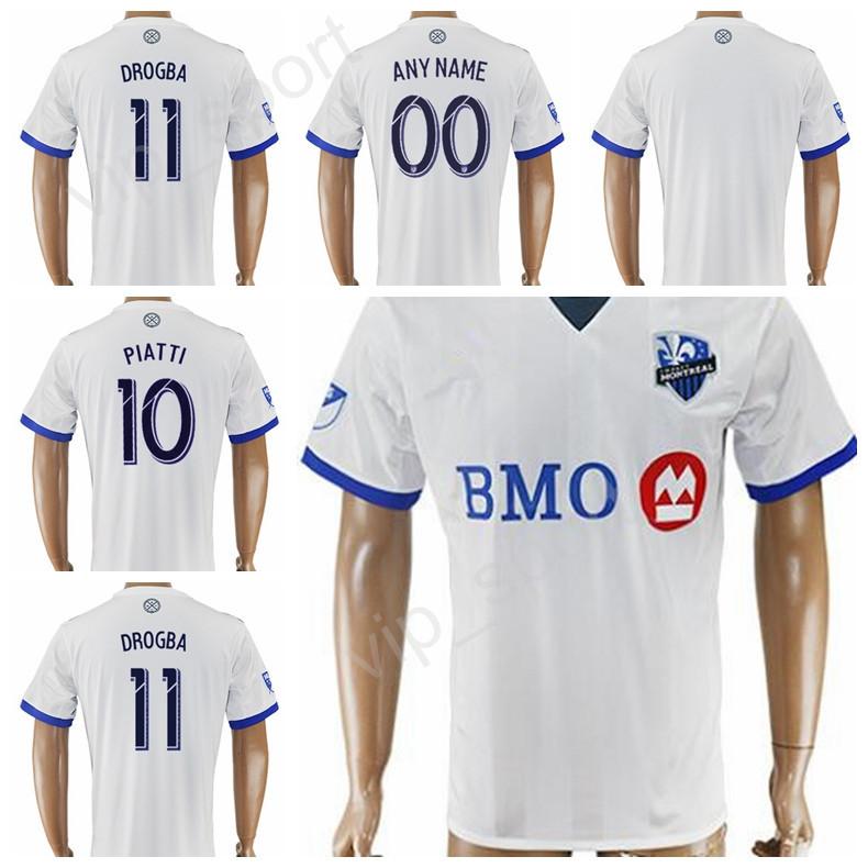 Soccer Men Short 17-18 Soccer FC Montreal Impact Jersey 7 Dominic Oduro  Football Shirt b766e22c9