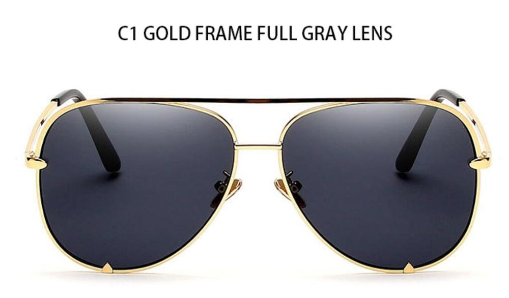 C1 gold frame gray