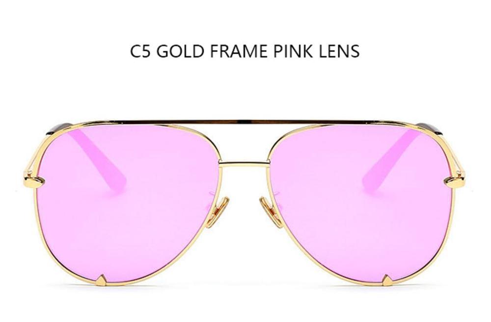 C5 gold frame pink