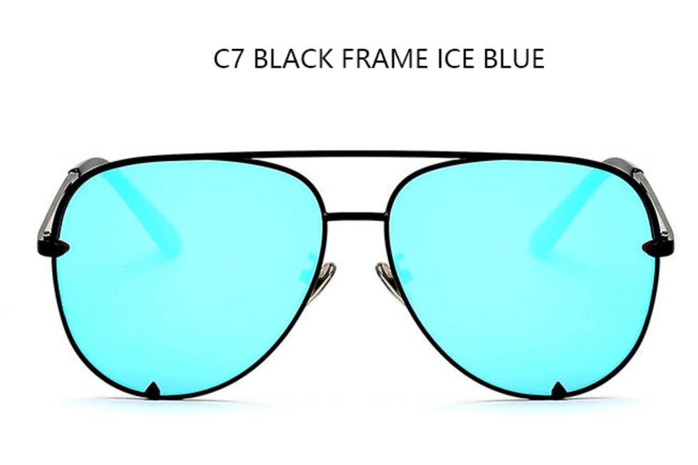 C7 black frame blue