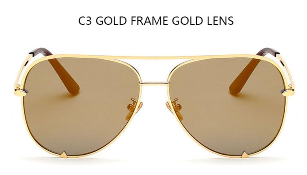 C3 gold frame gold