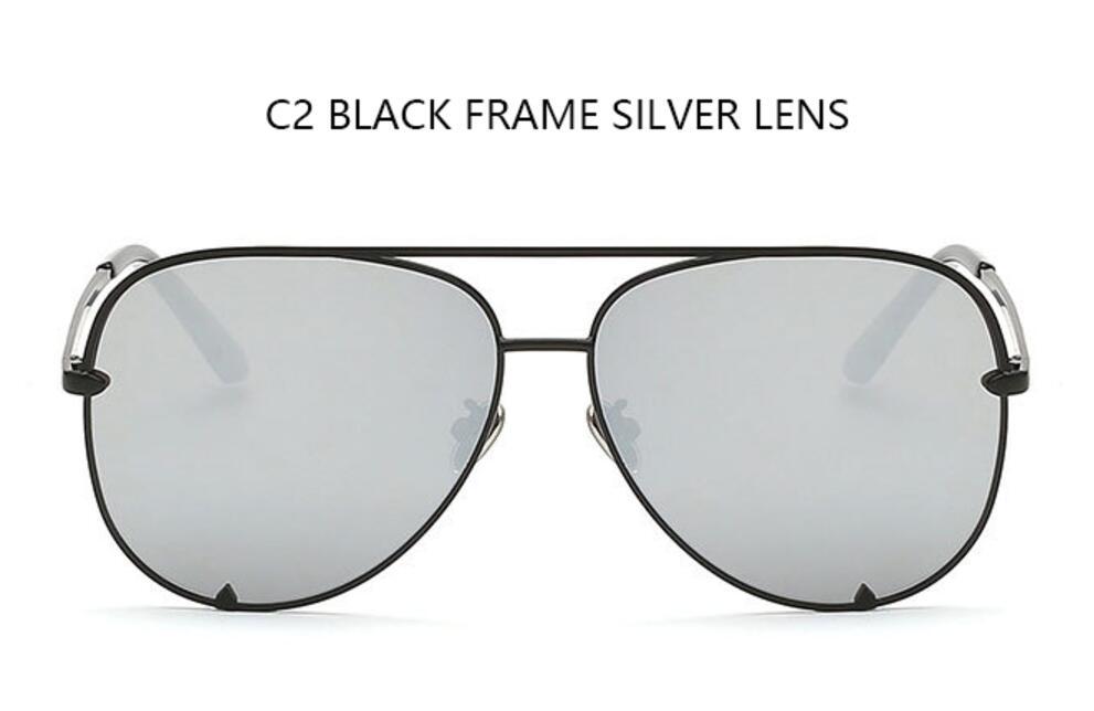 C2 black frame silve