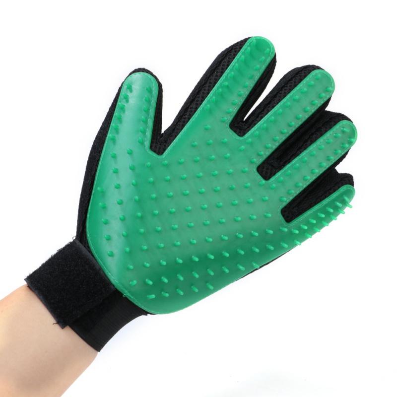 main verte gauche