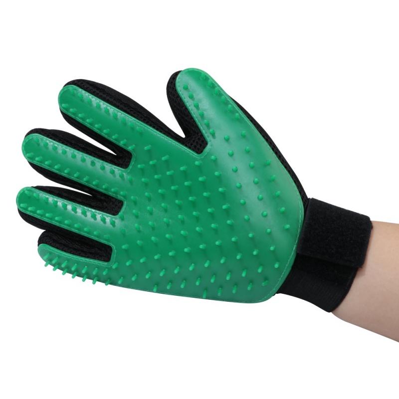main verte à droite