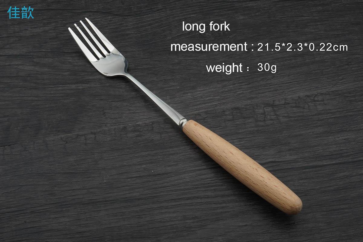 tenedor largo