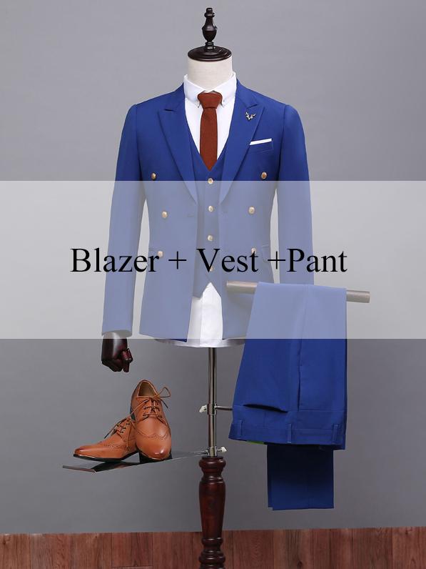 Blazer gilet pantalon