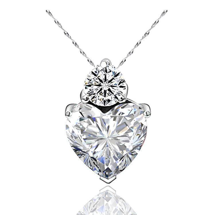 белый ожерелье
