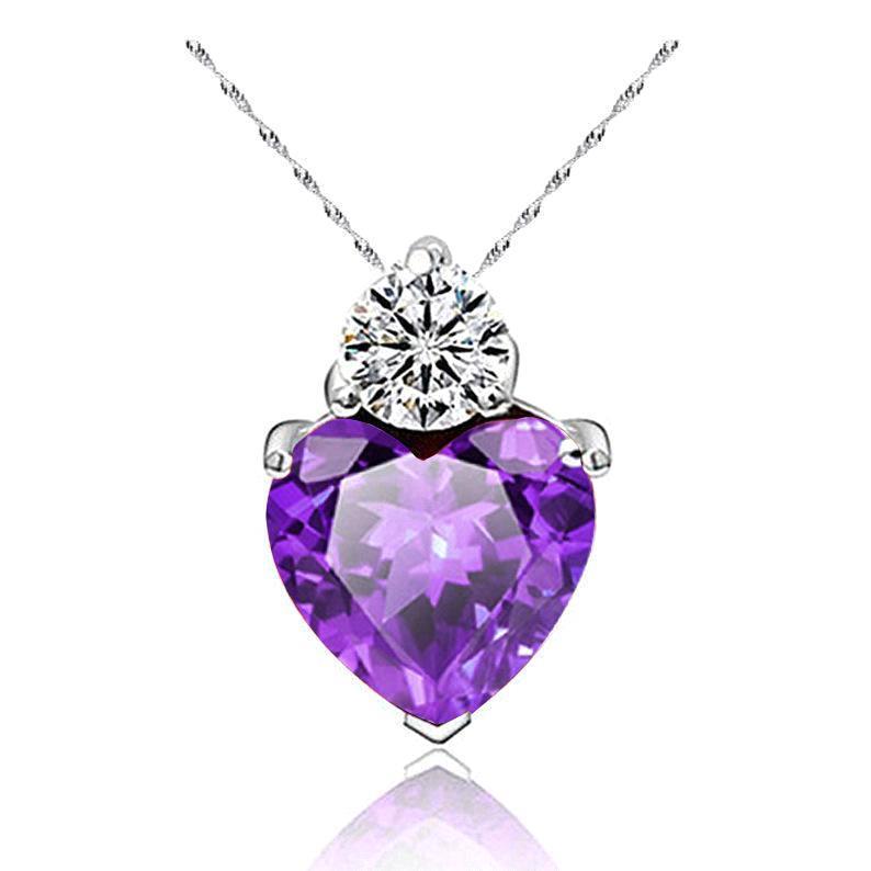 фиолетовый ожерелье