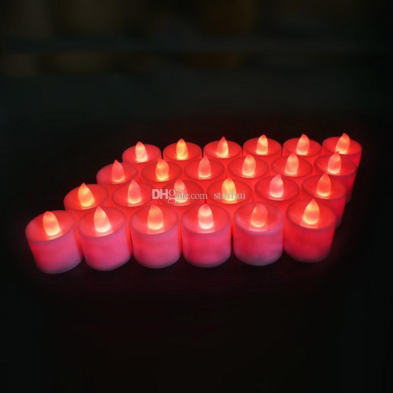luce rossa (24PCS / set)
