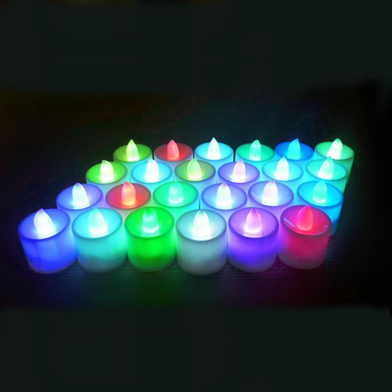 luce multicolore (24PCS / set)