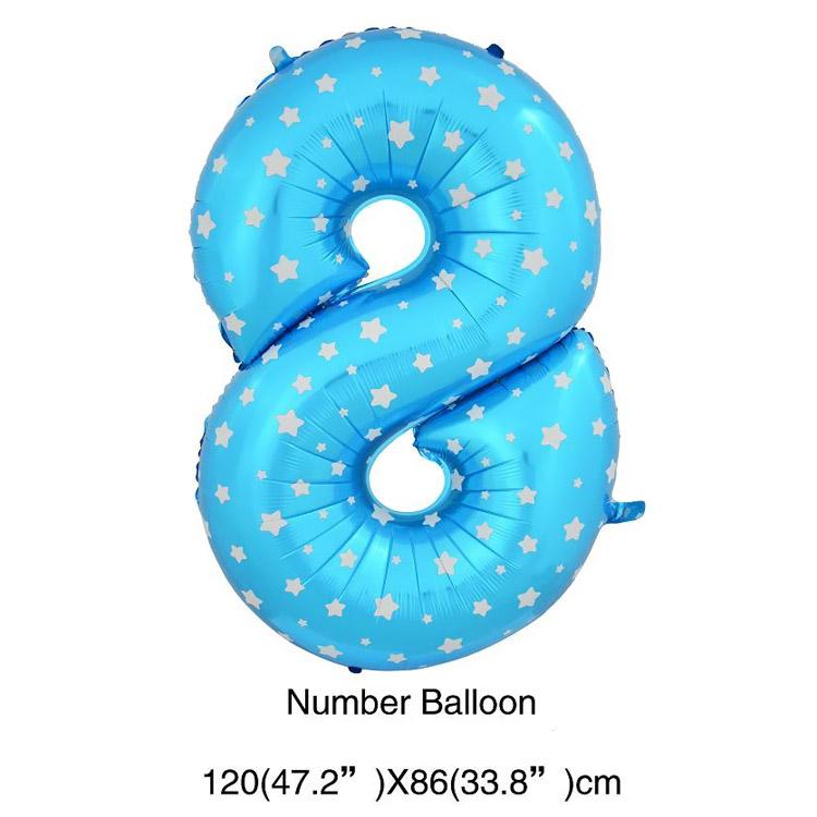 Синий 8
