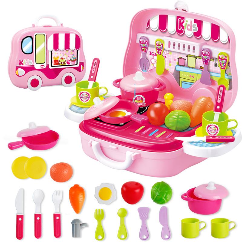 Küche Spielzeug Rosa