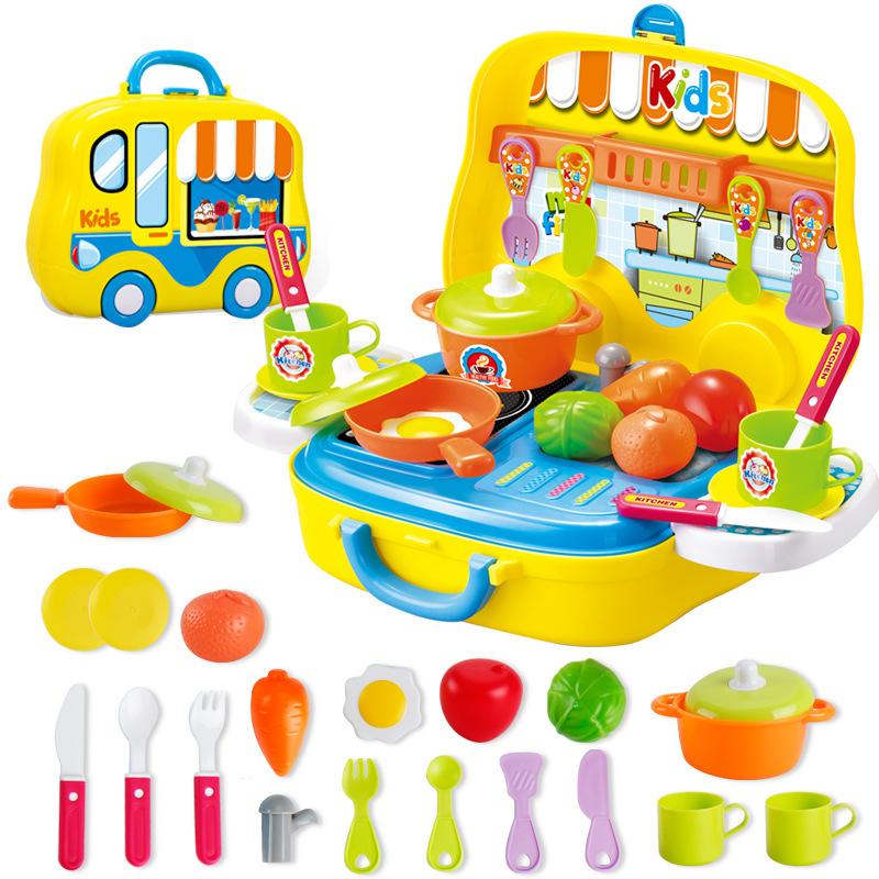Küche Spielzeug Gelb