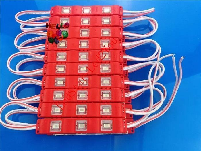 La luz roja Cuerpo Red Emitting