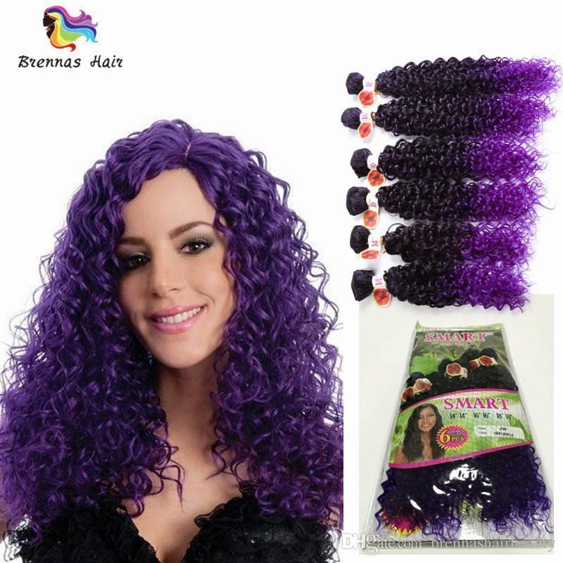 1b purple jerry curly