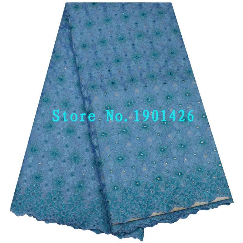 Wholesale Swiss Voile Lace Sale - Wonderful high quality Swiss voile lace with Rhinestones in Switzerland hot sale African cotton lace fabric for Nigerian wedding