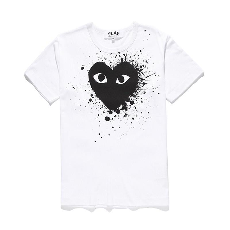 Beyaz siyah kalp