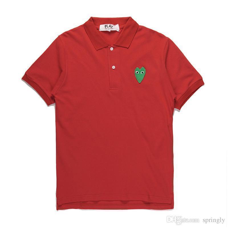 Coração verde vermelho