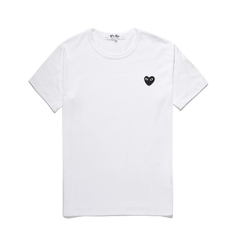 Blanc coeur noir