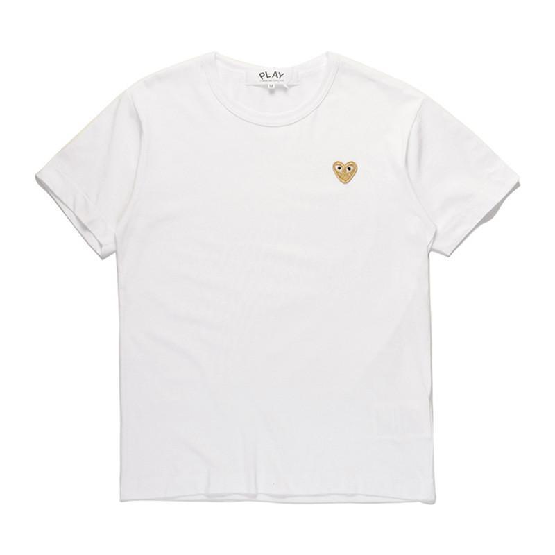 Coeur en or blanc