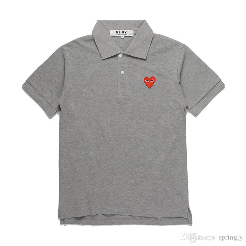 Coração vermelho cinza