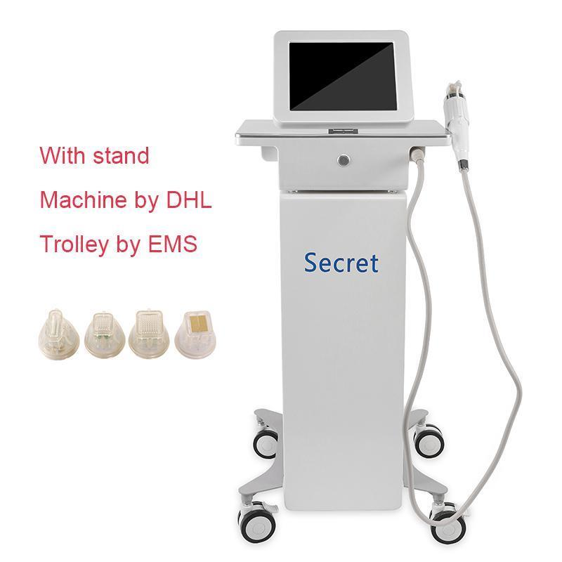 Machine with stand