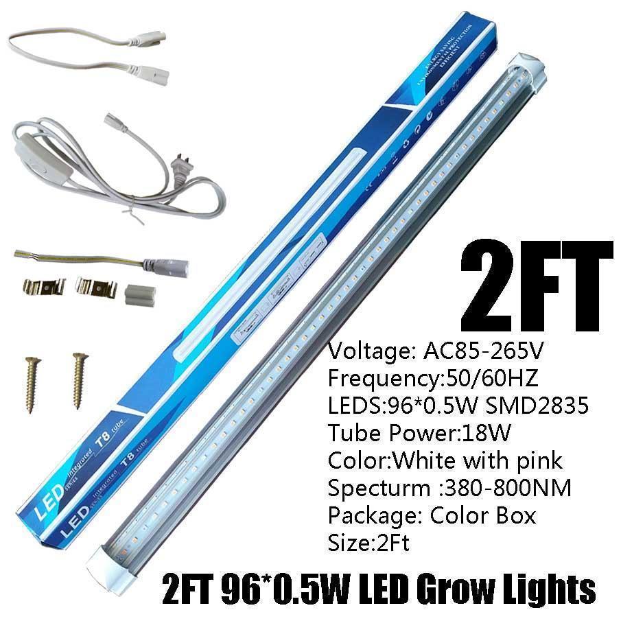 2FT 18W T8 V 자 모양