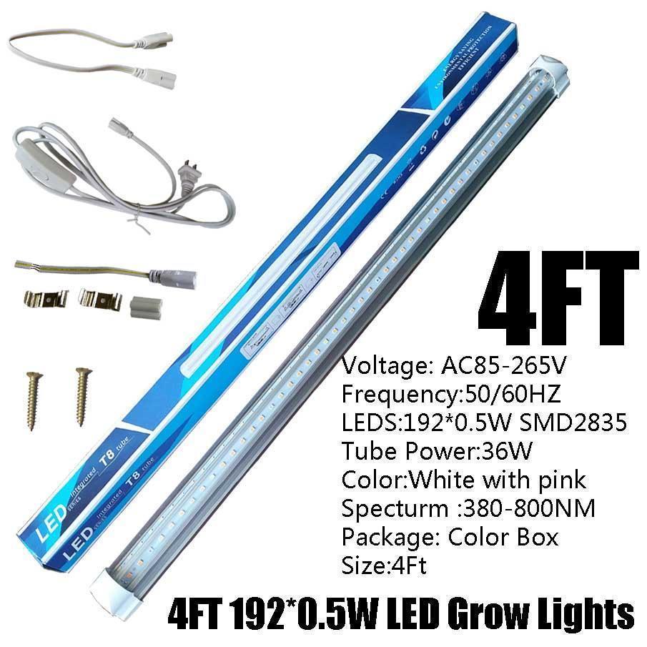 4FT 36W T8 V 자 모양