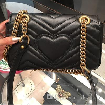 Marmont G+G cowhide leather bag
