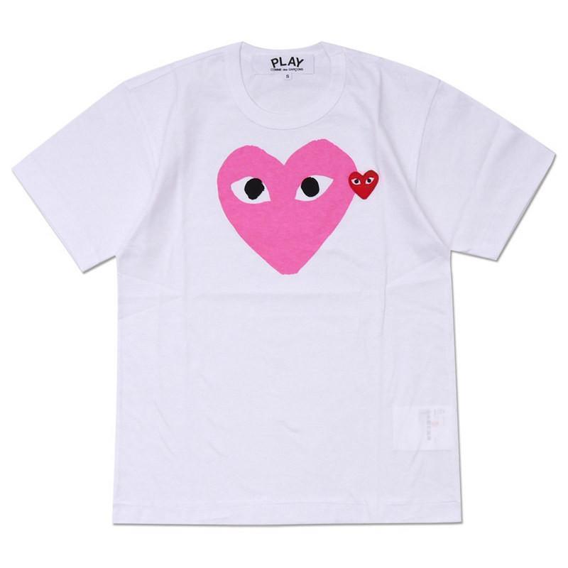 Corazón blanco rosa