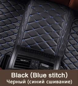 Siyah (mavi dikiş)